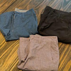 Quicksilver Amphibian Shorts (3 Pairs) Women's: 25